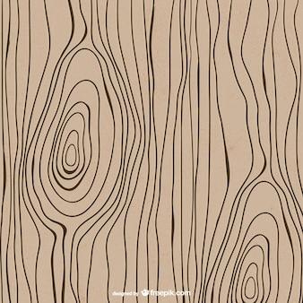 Getrokken houtstructuur