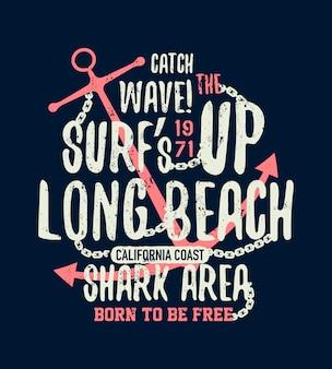 Gevaarlijke haaiillustratie met typo
