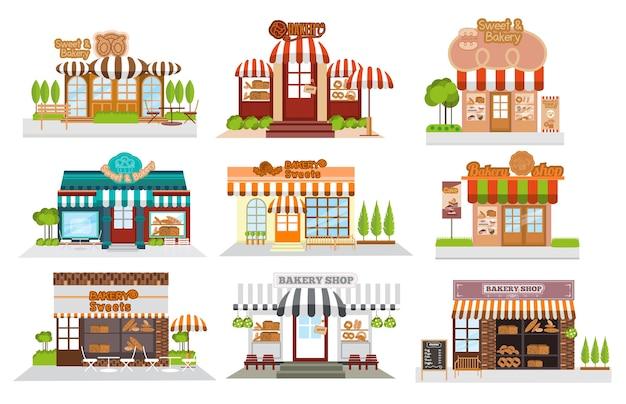 Gevel bakkerswinkel