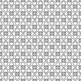 Gevoelig naadloos patroon in oosterse stijl - variatie 3