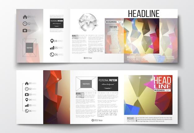 Gevouwen brochures