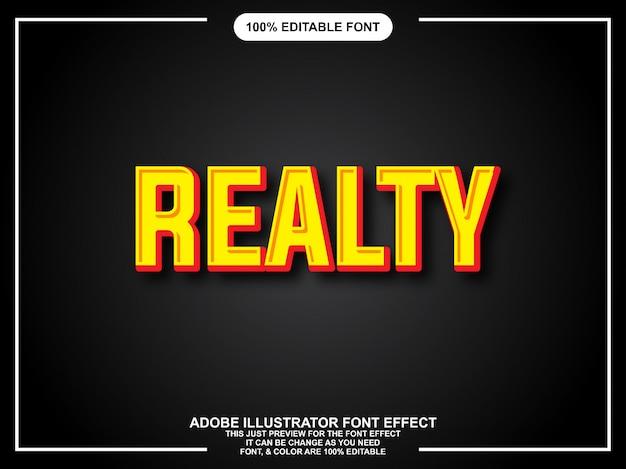 Gewaagde moderne grafische stijl gemakkelijk bewerkbare lettertype