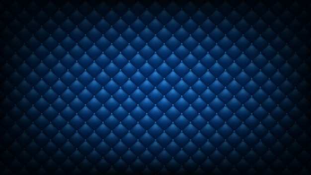 Gewatteerde blauwe achtergrond
