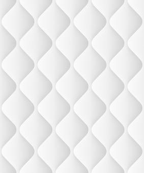 Gewatteerde naadloze patroon met golven. decoratieve achtergrond licht zachte textuur. en omvat ook