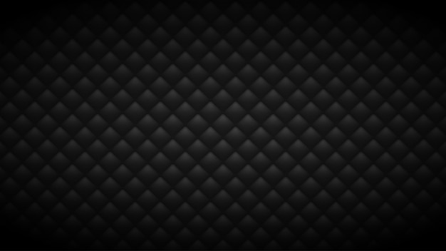 Gewatteerde zwarte achtergrond