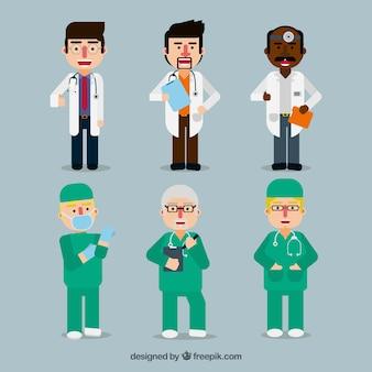 Geweld van platte artsen en chirurgen