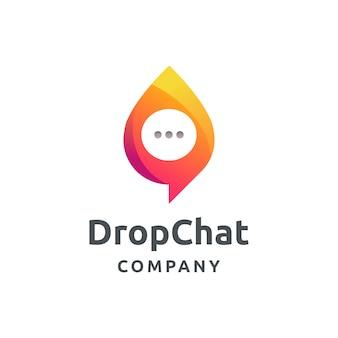 Geweldig chat-logo