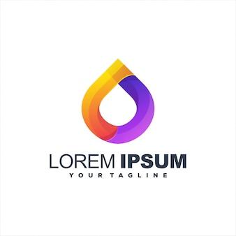 Geweldig drop gradient-logo