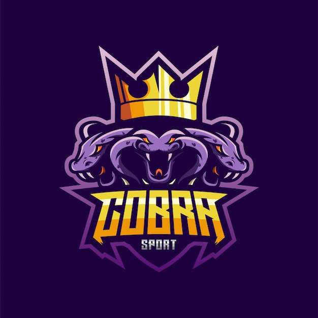 Geweldig esports-logo cobra