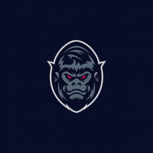 Geweldig gorilla-logo