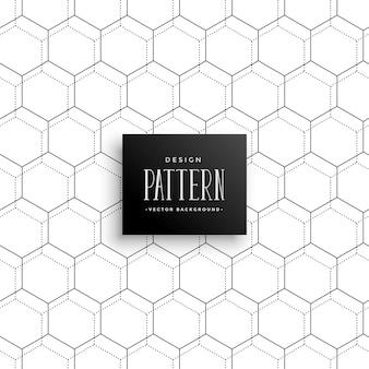 Geweldig heaxagonaal repetitief patroon