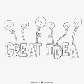 Geweldig idee belettering