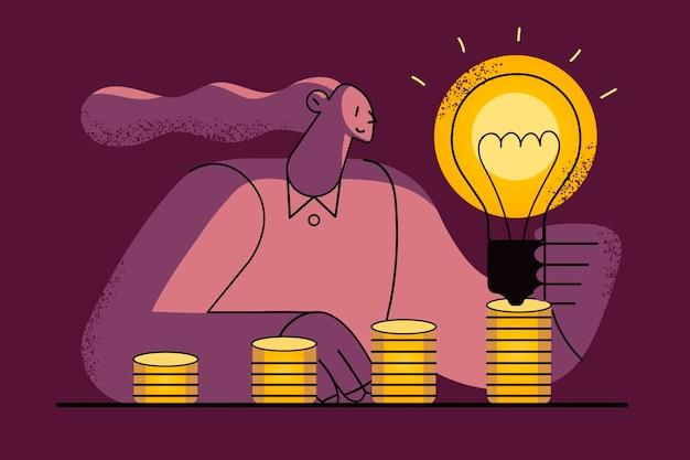 Geweldig idee voor nieuwe zaken en geld verdienen