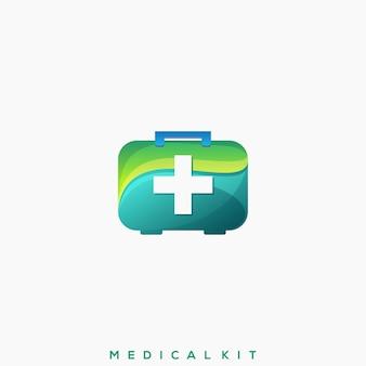 Geweldig logo voor medische kit
