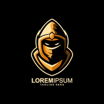 Geweldig ninja-logo