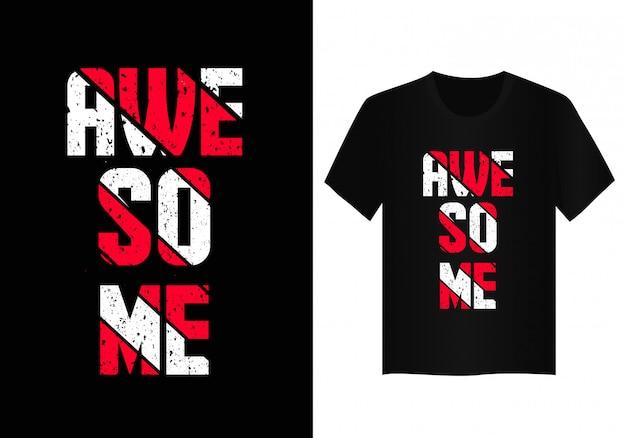 Geweldig t-shirtontwerp
