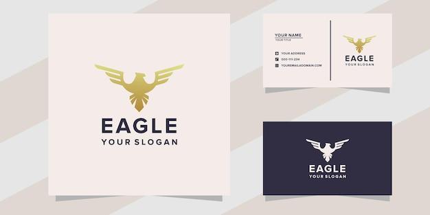 Geweldige adelaar logo sjabloon