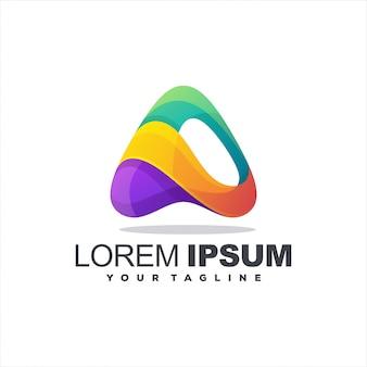 Geweldige brief een logo