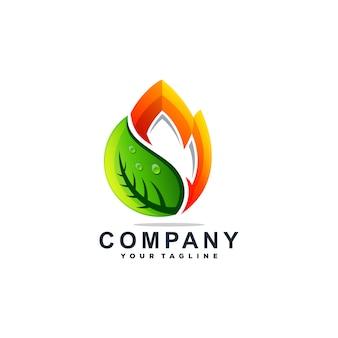 Geweldige druppel water logo ontwerp vector
