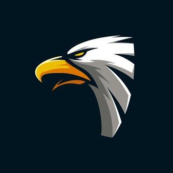 Geweldige eagle mascot
