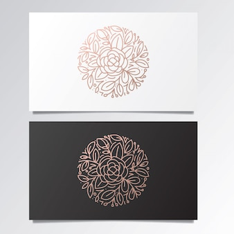 Geweldige logo en visitekaartje set