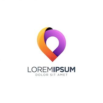 Geweldige plaats logo ontwerp