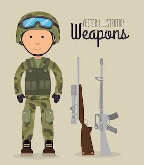 Geweren en wapens