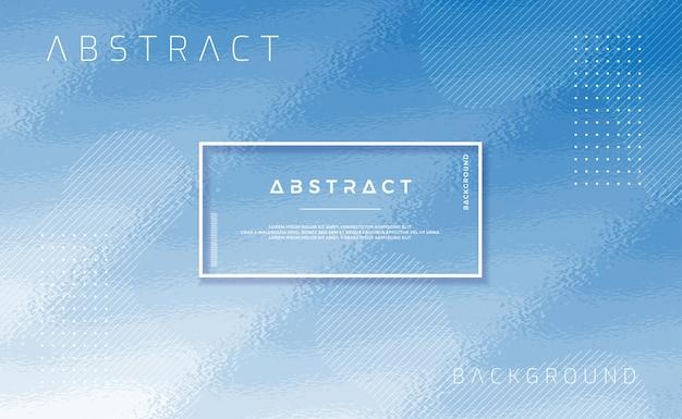 Geweven blauwe achtergrond met abstracte vorm.