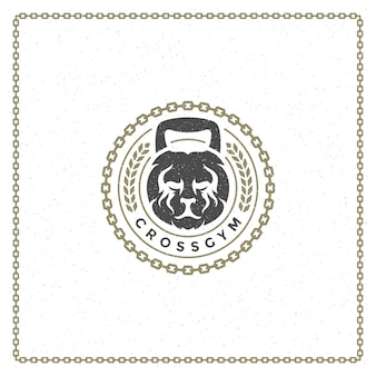 Gewicht leeuwenkop logo
