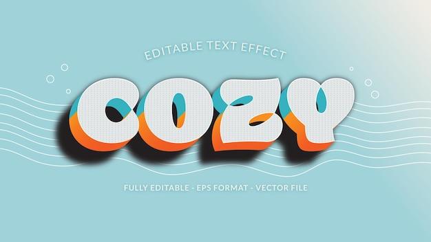 Gezellig teksteffect met duotoon