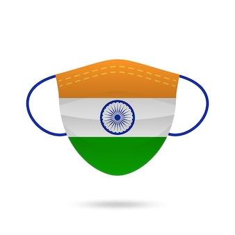 Gezichtsmasker india coronaviruspreventie.