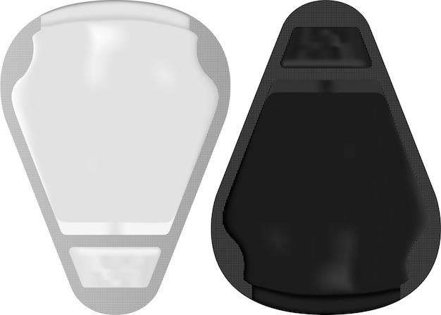 Gezichtsmasker pakket. cosmetische verpakking