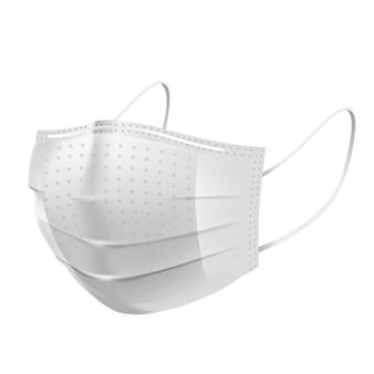 Gezichtsvervuilingsmasker, voor medisch en stof pm2.5, bescherming tegen gevaren of gezondheid, ziekte, hoest, adembescherming, allergie voor ziekenhuis