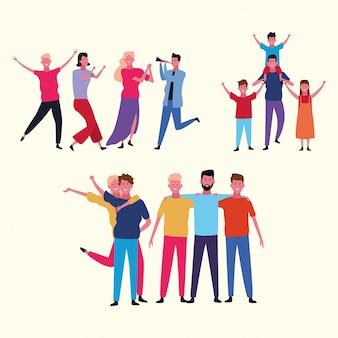 Gezinsgroep avatar