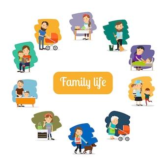 Gezinsleven en ouders geven om