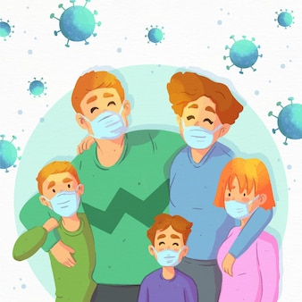 Gezinsvriendelijk tegen het virus