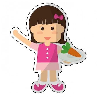 Gezond eten pictogramafbeelding