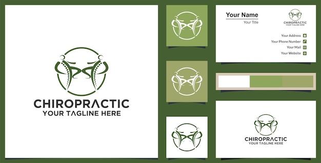 Gezond leven logo sjabloon vector pictogram vector en visitekaartje premium