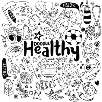 Gezond levensstijlconcept