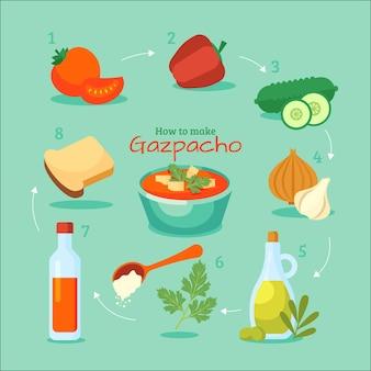 Gezond recept met groenten