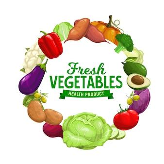 Gezonde biologische groenten, boerderij tuin oogst