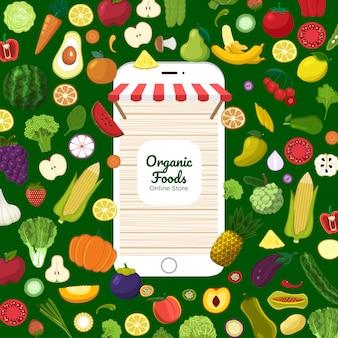 Gezonde biologische voeding