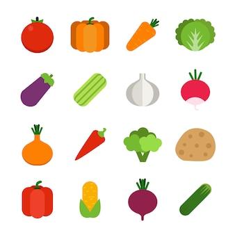 Gezonde groenten.