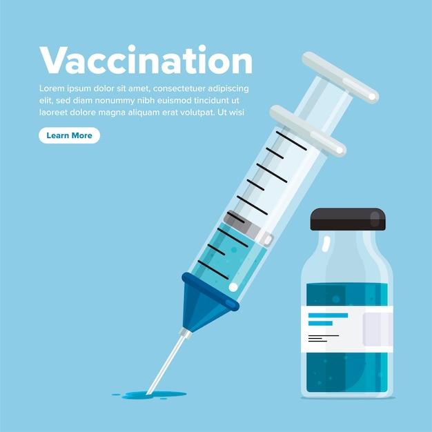 Gezonde vaccinatie tegen medicijnen