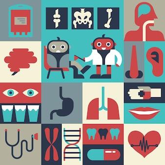 Gezondheid concept