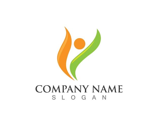Gezondheid logo's sjabloon symbolen