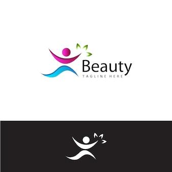 Gezondheid mensen schoonheid logo sjabloon ontwerp vector