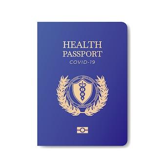Gezondheid paspoort sjabloon