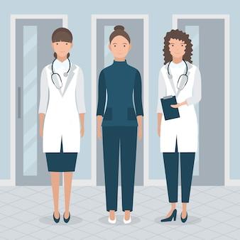Gezondheid professioneel team