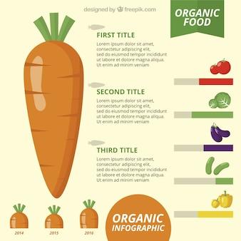Gezondheid voedsel infographic